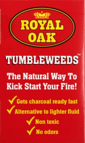 Royal Oak Tumbleweeds™ Natural Fire Starters Perspective: left
