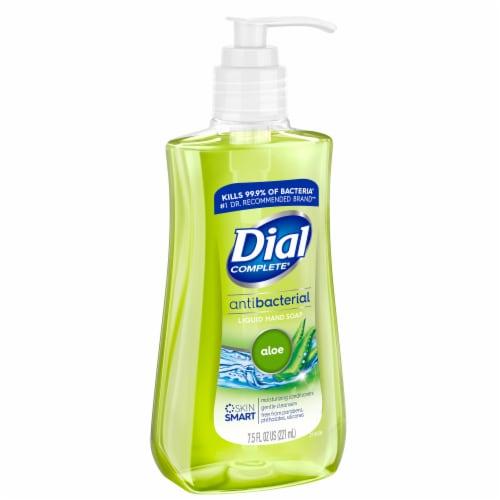 Dial Complete® Aloe Antibacterial Liquid Hand Soap Perspective: left