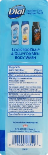 Dial Spring Water Antibacterial Deodorant Soap Bars Perspective: left