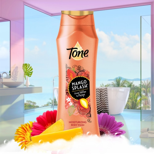 Tone Mango & Cocoa Butter Moisturizing Body Wash Perspective: left