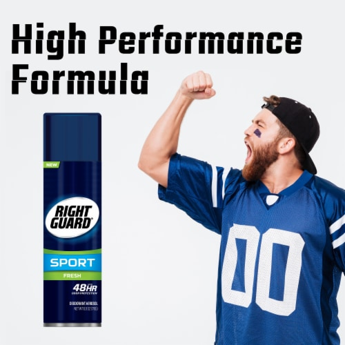 Right Guard® Sport Aerosol Fresh Deodorant Perspective: left