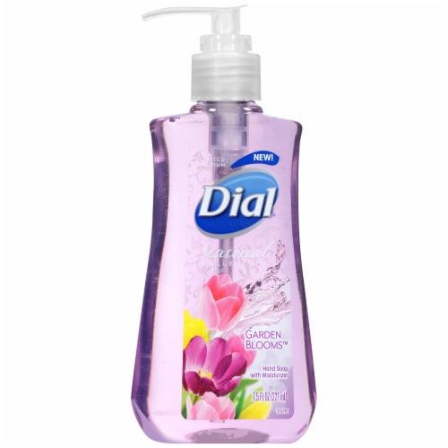 Dial Seasonal Collection Garden Blooms Liquid Hand Soap Perspective: left
