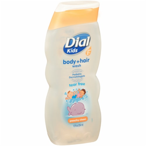 Dial Kids Peachy Clean Tear Free Body Wash Perspective: left