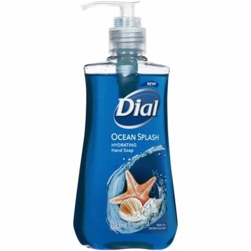 Dial Ocean Splash Hydrating Liquid Hand Soap Perspective: left