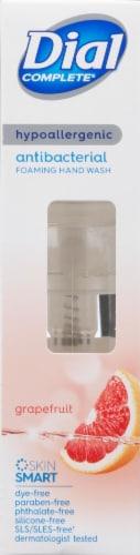 Dial Complete Clean + Gentle Grapefruit Antibacterial Foaming Hand Wash Perspective: left