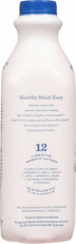 Lifeway Organic Kefir Low Fat Blueberry Milk Perspective: left