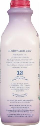 Lifeway Organic Wildberries and Cream Kefir Cultured Whole Milk Perspective: left