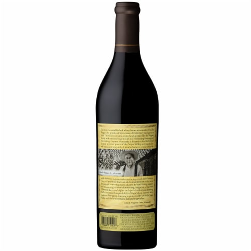 Caymus Vineyards Cabernet Sauvignon Red Wine Perspective: left