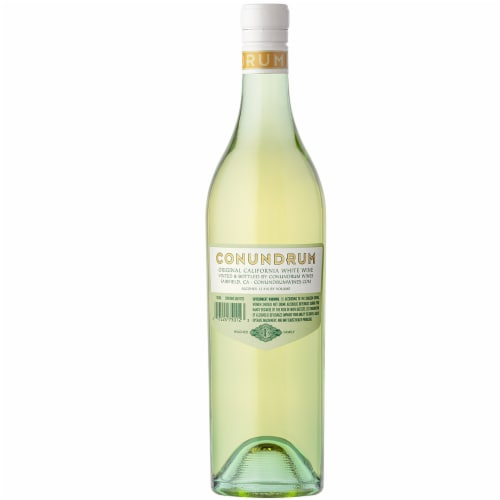 Caymus Vineyards Conundrum White Wine Perspective: left