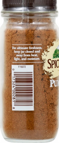 Spice Islands Pumpkin Pie Spice Perspective: left