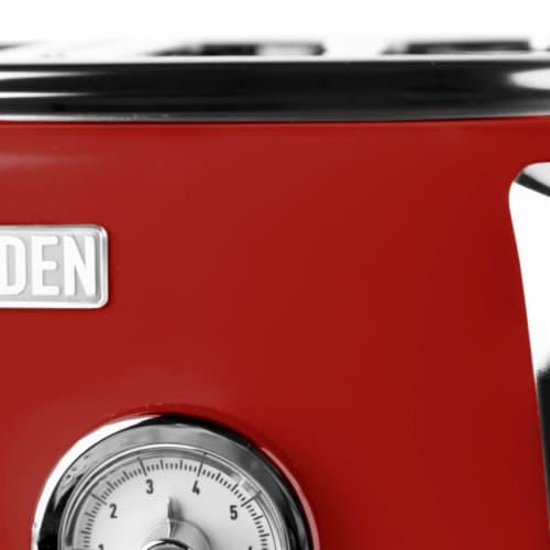 Haden Dorset 4-Slice Toaster - Red Perspective: left