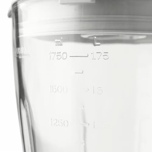 Haden Heritage 5-Speed Retro Blender with Glass Jar - Ivory White Perspective: left