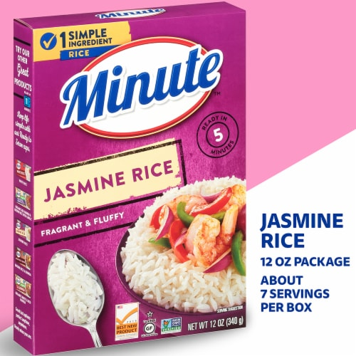 Minute Instant Jasmine Rice Perspective: left