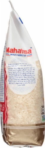 Mahatma Short Grain Rice Perspective: left