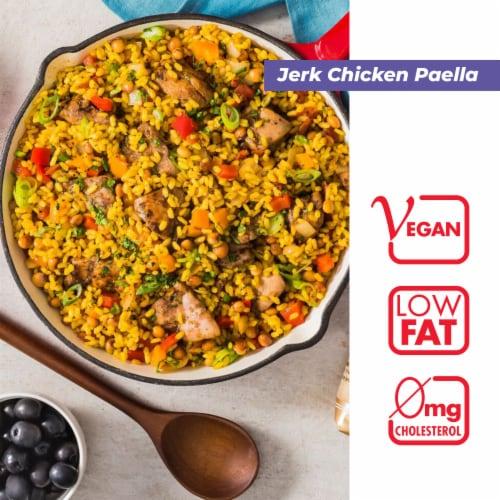 Mahatma Parboiled Medium Grain Rice Perspective: left