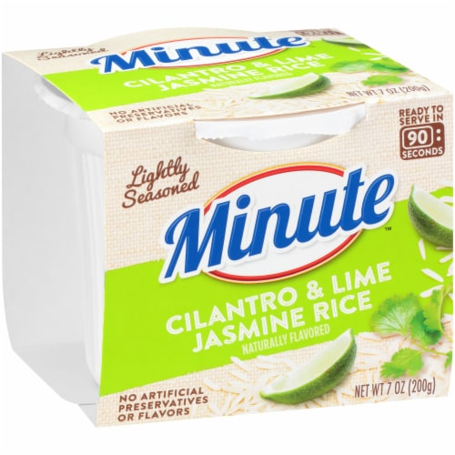 Minute Ready to Serve Cilantro & Lime Jasmine Rice Perspective: left
