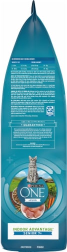 Purina ONE Vibrant Maturity 7+ Natural Senior Dry Cat Food Perspective: left