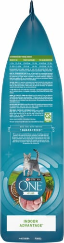 Purina ONE Indoor Advantage Hairball & Weight Control Natural Dry Cat Food Perspective: left