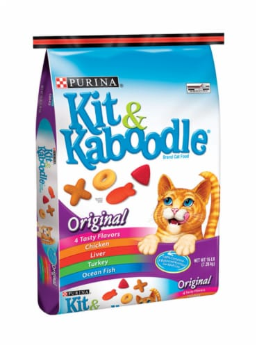 Kit & Kaboodle® Original Dry Cat Food Perspective: left