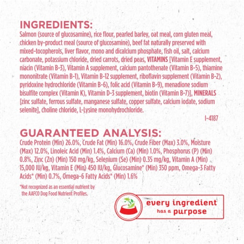Purina ONE SmartBlend Sensitive Systems Formula Natural Dry Adult Dog Food Perspective: left