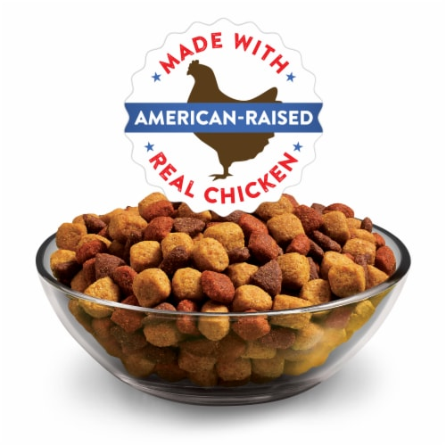 Dog Chow Complete Adult with Real Chicken Dry Dog Food Perspective: left