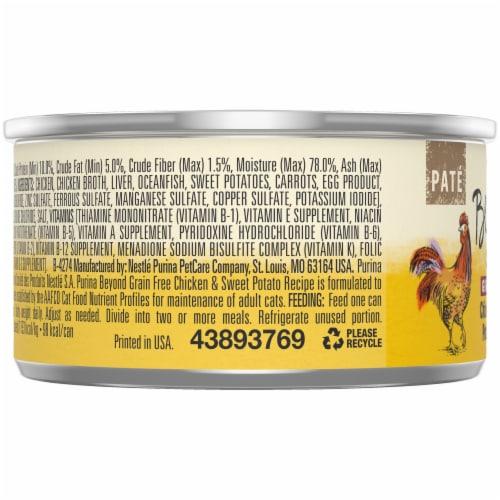 Beyond® Grain Free Chicken & Sweet Potato Recipe Pate Wet Cat Food Perspective: left