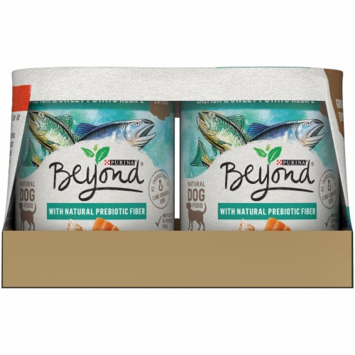Beyond Grain Free Ground Entree Natural Pate Wet Dog Food Variety Pack Perspective: left