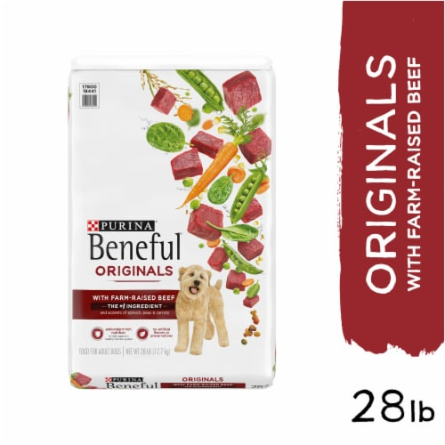Beneful Originals with Real Beef Adult Dry Dog Food Perspective: left