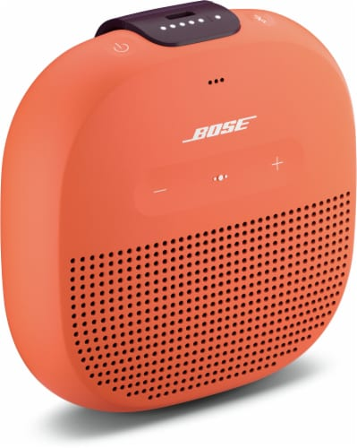 Bose SoundLink Micro Bluetooth Speaker - Orange Perspective: left