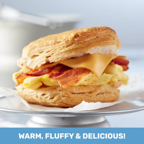 Pillsbury Grands! Honey Butter Flaky Layers Biscuits Perspective: left