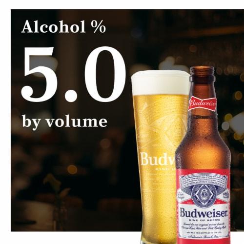 Budweiser® Lager Beer Perspective: left