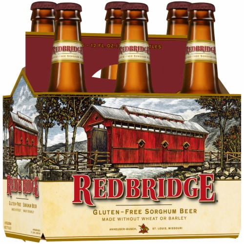 Redbridge Gluten-Free Beer Perspective: left