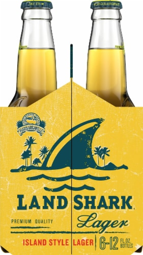 LandShark Island Style Lager 6 Count Perspective: left