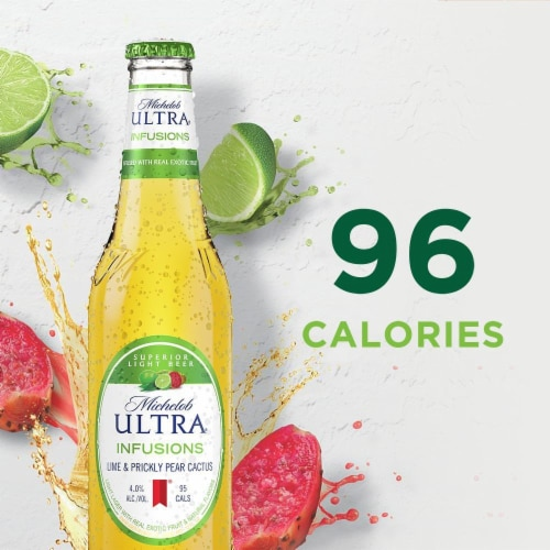 Michelob Ultra Lime Cactus Light Beer Perspective: left