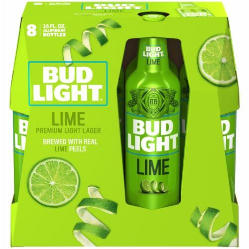 Bud Light Lime Premium Light Lager Perspective: left