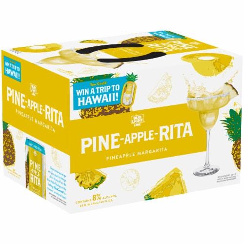 Bud Light Lime Pine-Apple-Rita Seasonal Perspective: left