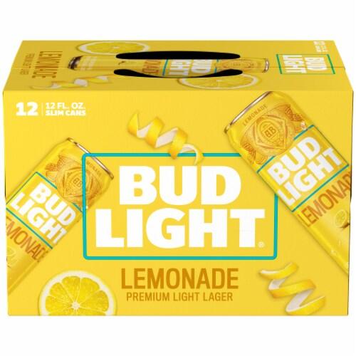 Bud Light Lemonade Lager Perspective: left