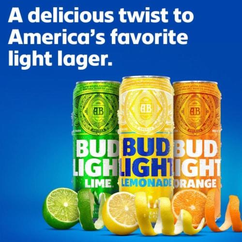 Bud Light Citrus Premium Light Lager Variety Pack Perspective: left