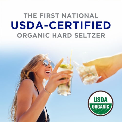 Anheuser-Busch Michelob Ultra Organic Setlzer Variety Pack Perspective: left