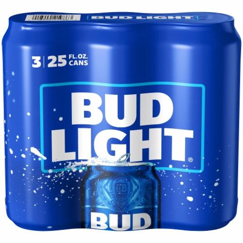 Bud Light Lager Beer Perspective: left