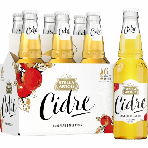 Stella Artois Premium Apple Cider Perspective: left