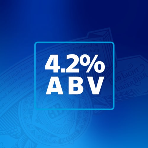 Bud Light Lager Perspective: left