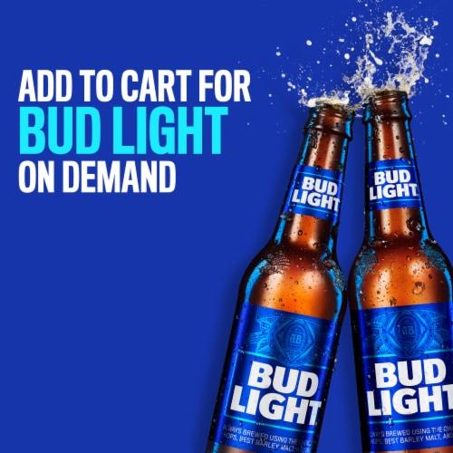 Bud Light Reclosable Beer Perspective: left
