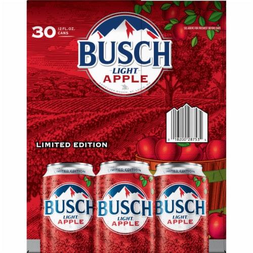 Busch Light Apple Beer Perspective: left
