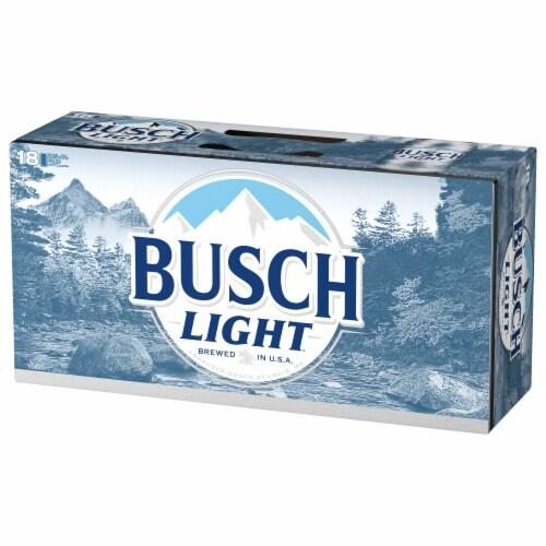 Busch Light Beer Perspective: left
