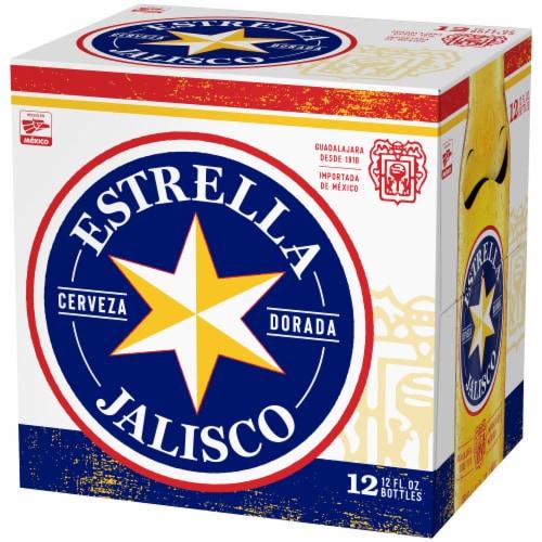 Estrella Jalisco Beer Perspective: left