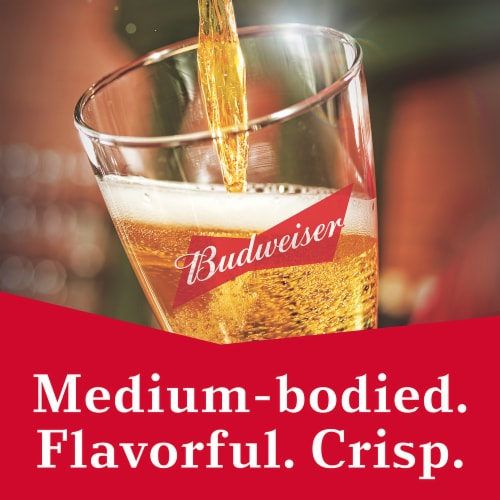 Budweiser Beer Perspective: left