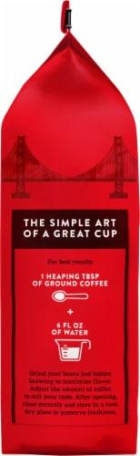 Hills Bros. Dark Satin Dark Roast Whole Bean Coffee Perspective: left