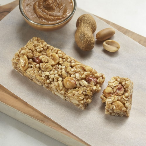 Kashi Vegan Chewy Granola Bars Peanut Butter Perspective: left