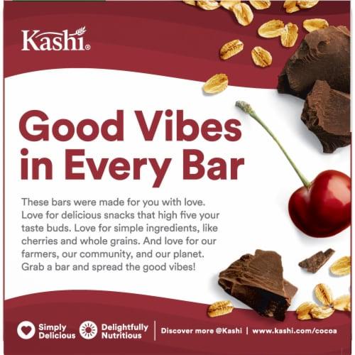 Kashi 3g Fiber Cherry Dark Chocolate Chewy Granola Bars Perspective: left